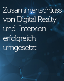 Digital Realty Completes Combination with Interxion