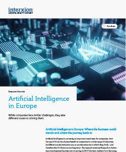 Artificial Intelligence in Europe: