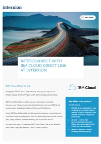IBM factsheet